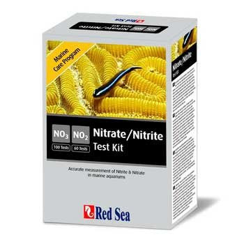 Red Sea Fish Pharm ARE21465 Marine Care Program Nitrate/Nitrite Kit for Aquarium, 60/100 Tests