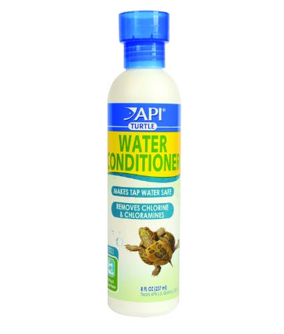 API TURTLE WATER CONDITIONER Water Conditioner 8-Ounce Bottle