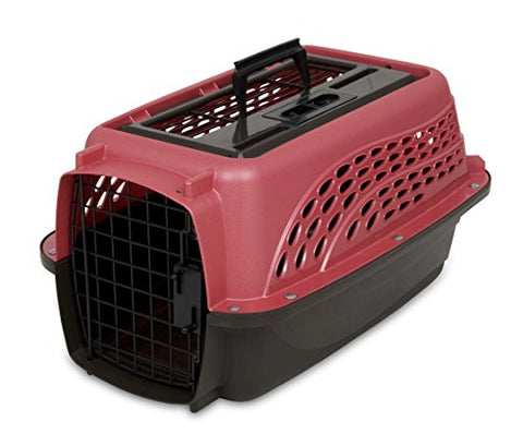 "PETMATE 2 DOOR TOP LOAD KENNEL 19"" UP TO 10LBS"