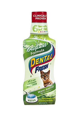 SynergyLabs Dental Fresh Original Formula for Cats, 8 ounces