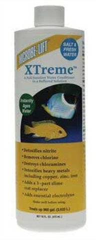 Microbe-Lift Xtreme for Salt and Fresh Water Home Aquariums, 16-Ounce