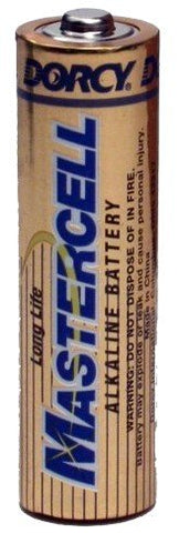 Dorcy 41-1631 Mastercell Alkaline AA Batteries (Pack of 24)