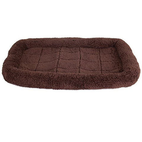 Precision Pet SnooZZy Crate Bed 3000 31 in. x 21 in. Chocolate Cozy