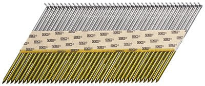 Senco K528APBXN 0.131 x 3.25 Diamond Point Bright Finish Framing Nails - 2500 ct.