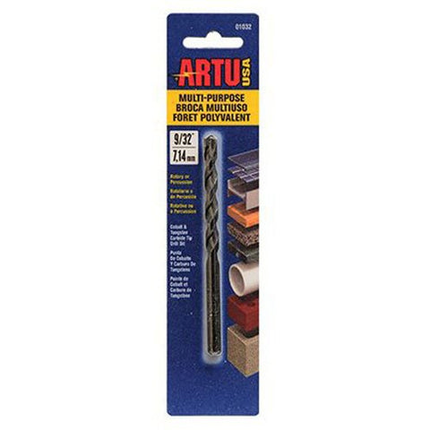 ARTU USA 01050 Multi Purpose Drill Bit, 3/8-Inch x 5-3/16-Inch