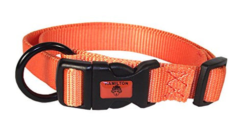 Hamilton Adjustable Nylon Dog Collar