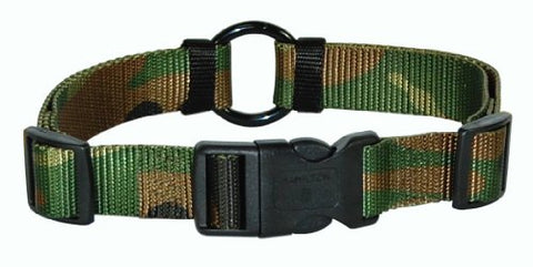 Hamilton 1-Inch Adjustable Saferite Dog Collar, Adjusts from 18 to 26-Inch, Camouflage