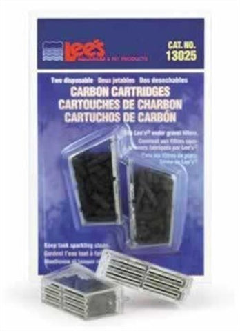 Lee's Carbon Cartridge, Disposable, 2-Pack