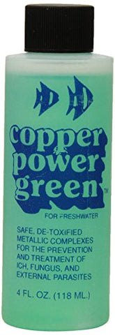 Copper Power (Endich) ACP0004G Green Treatment for Marine Fish, 4-Ounce