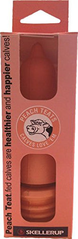 082036 Pink Threaded Peach Teat Pink, 1 x 6""