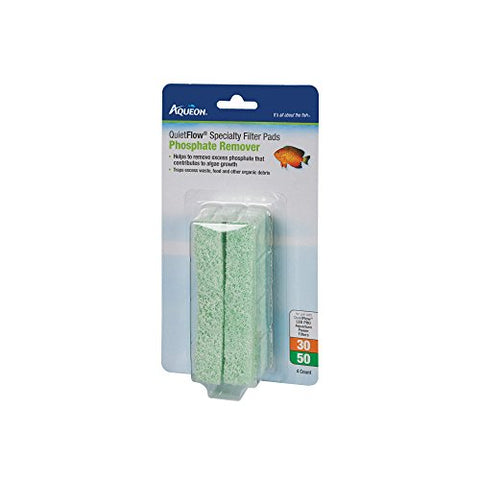 Aqueon Quiet Flow 30/50 Phosphate Reducing Specialty Filter Pad