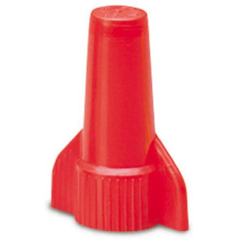 Gardner Bender 25-086 WingGard Twist-On Wire Connectors, 22-6 AWG, Electrical Wire Nut, 25 pk, Red