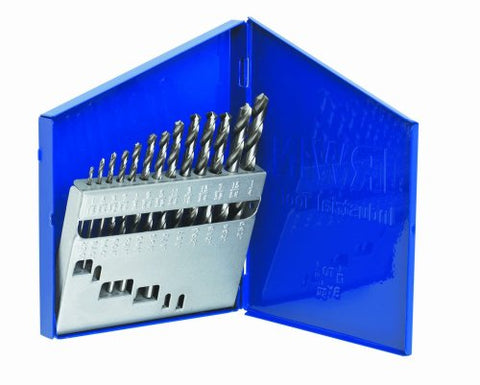 Irwin Industrial Tools 60136 General Purpose Metal Index Drill Bit Set, 13-Piece