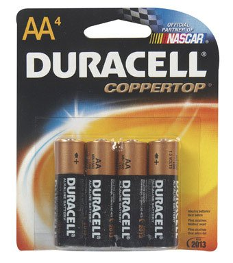 Duracell Alkaline Battery Size Aa 1.5 V Card 4