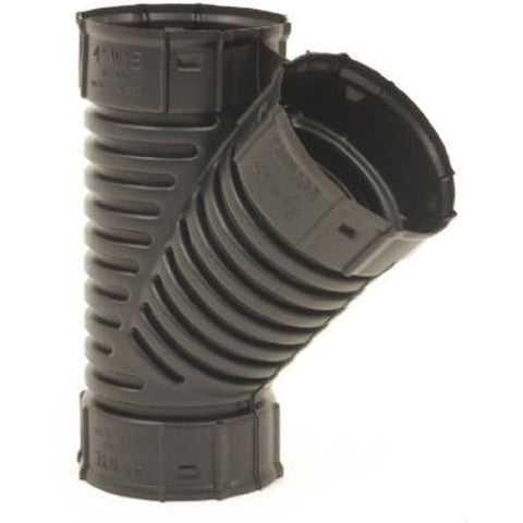 "ADVANCED DRAINAGE SYSTEMS 0422AA 4"" Snap Drain Wye"