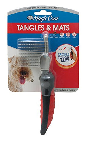 Four Paws Magic Coat Dog Grooming Mat Removing Comb