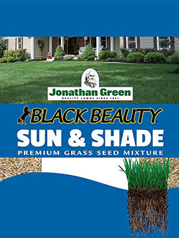 Jonathan Green 12006 Sun and Shade Grass Seed Mixture, 25-Pound