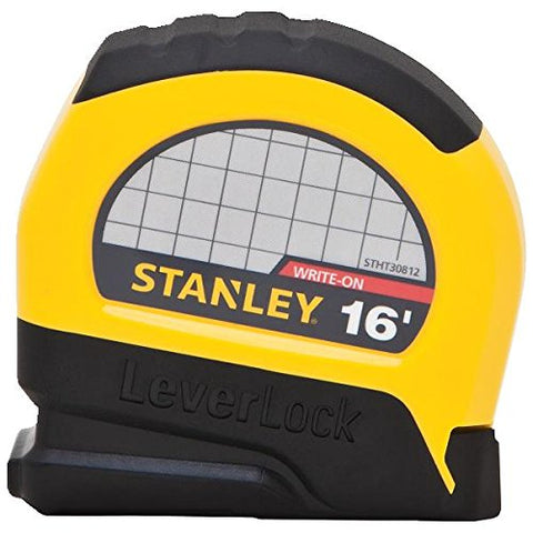 Stanley STHT30812 Lever Lock Tape Rule, 16' x 3/4""