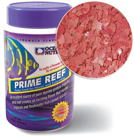 Ocean Nutrition Prime Reef Flake Food 2.5oz