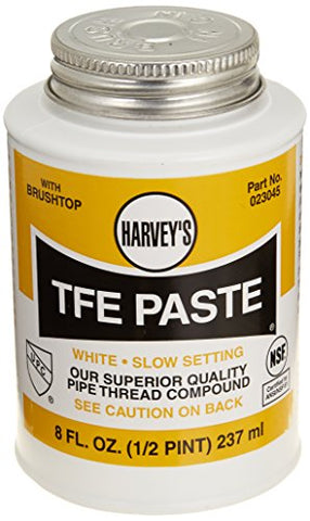 Harvey 023045 1/2 Pint TFE Paste with Teflon