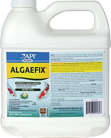 API POND ALGAEFIX Algae Control Solution 64-Ounce Bottle