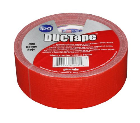 Intertape Polymer Group 20C-R 2 AC20 9mil Utility Duct Tape, 1.88-Inch x 60-Yard, Red