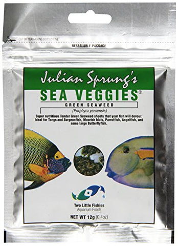 Two Little Fishies ATLSVGS2 Sea Veg-Green Seaweed, 0.4-Ounce