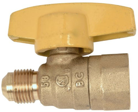 Plumb Shop Brasscraft PSSL-12 Gas Ball Valve