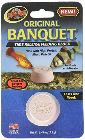 Zoo Med Original Banquet Feeding Block, 0.45-Ounce