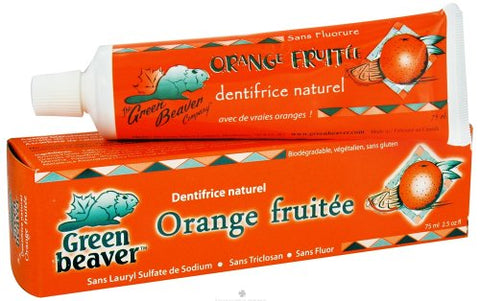 Toothpaste Zesty Orange 2.50 Ounces