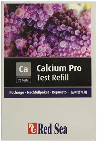 Red Sea Fish Pharm ARE21406 Reagent Calcium Pro Refill Kit for Aquarium, 75 Tests