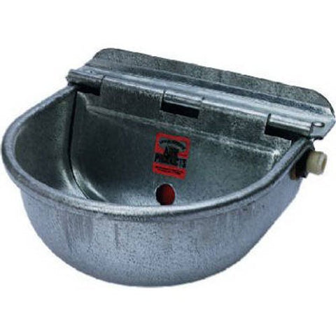 MILLER CO Galvanized Stock Waterer, 68.8 oz