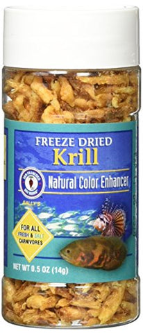 San Francisco Bay Brand ASF71305 Freeze Dried Krill for Fresh and Saltwater Carnivores, 14gm