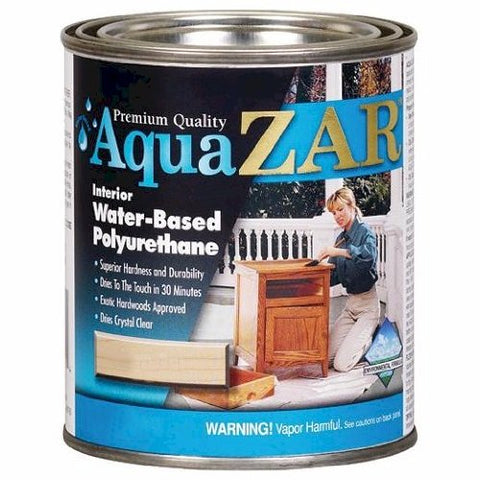 aqua Zar Water-based Polyurethane 1qt - Semi-gloss