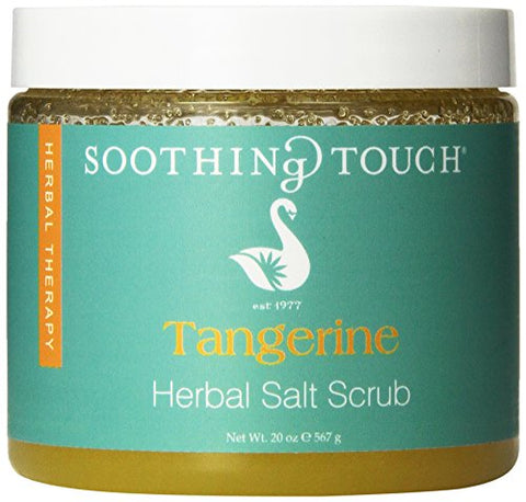Soothing Touch Salt Scrub, Tangerine, 20 Ounce