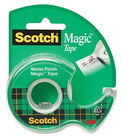 Scotch Magic Tape, 1/2 x 450 Inch (104)