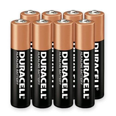 Duracell Alkaline Battery Size Aaa 1.5 V Pack Of 10