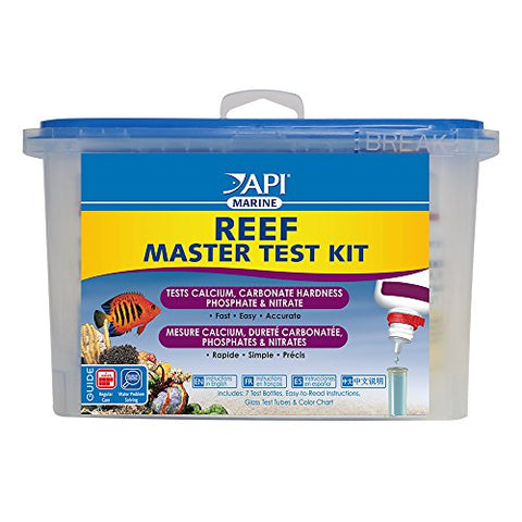 API REEF MASTER TEST KIT Reef Aquarium Water Test Kit 1-Count
