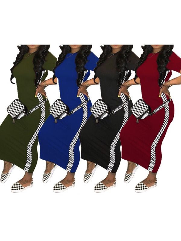 Finish Line Body Con Dress (Additional Colors)