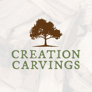 Creation Carvings, Wood Carvings, Walking Sticks, Hand-carved Staffs