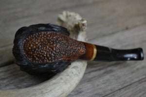 Rusticated Briar Pipe