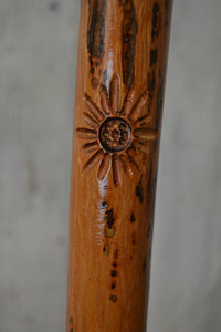Flower Carving on Stick