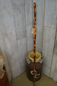 Hickory walking stick by Creation Carvings
