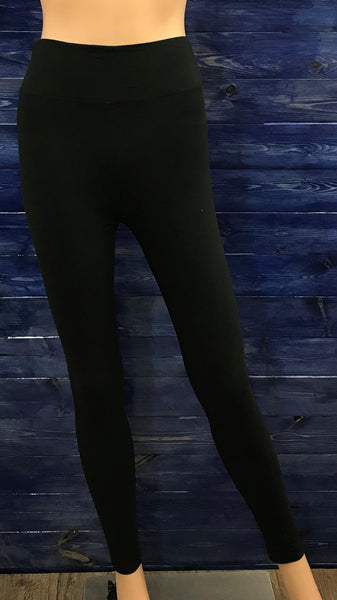 Black Leggings With 3inch Waistband