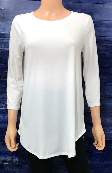 Ivory 3/4 Sleeve Top