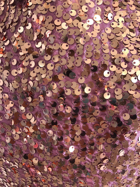 Rose Sequin Dress