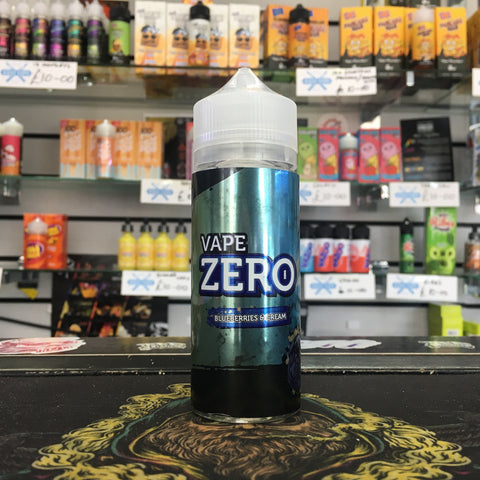 Vape Zero - Blueberries and Cream