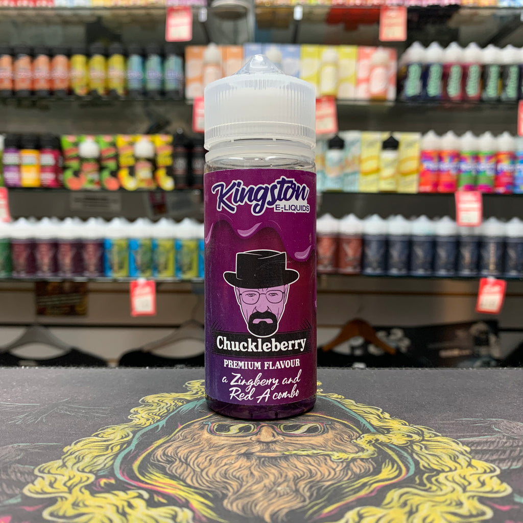 Kingston E-Liquids - Chuckleberry