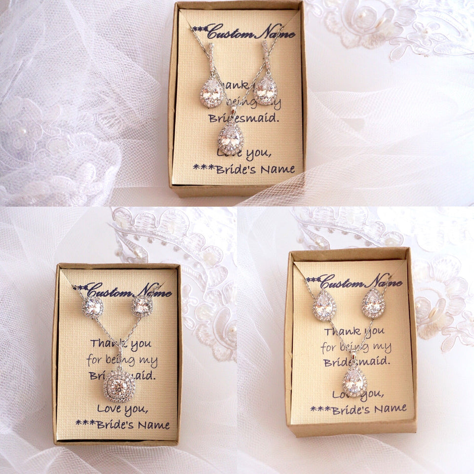 Bridal and Bridesmaids Jewelry