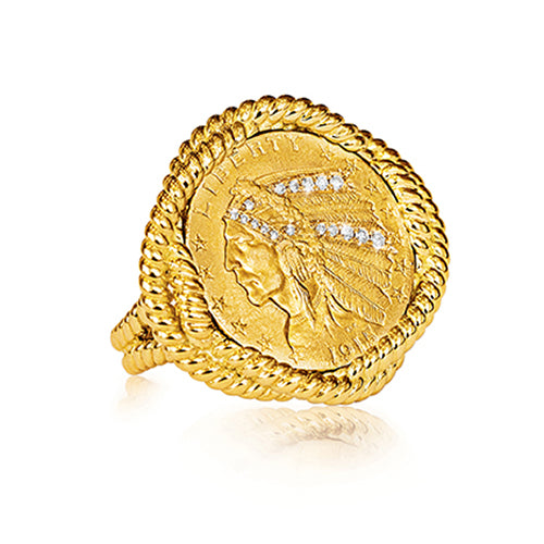 Verdura-Jewelry-Coin-_Ring-Gold-Diamond